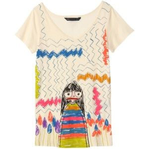 Marc by Marc Jacobs Miss Marc tee, XS